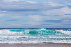 Sea waves at Cape Woolamai Royalty Free Stock Images