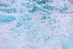 Sea waves closeup  - ocean ripples Stock Images