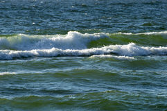 The sea and the waves Royalty Free Stock Photos