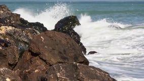 Sea waves stock video