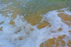 Sea waves of the Mediterranean Sea. Israel stock photos