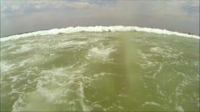 Sea waves ocean stock video