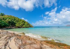Free Sea Waves On Sand Beach Water And Coast Seascape Rocky Coast - View Of Beautiful Tropical Landscape Beach Sea Island With Ocean Royalty Free Stock Photo - 179586845