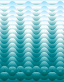 Sea Waves Pattern Royalty Free Stock Photography
