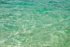 Sea waves. Ravee island, Koh Ravee at Satun province Thailand Stock Photo
