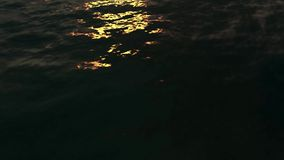 Sea Waves Reflections Animation stock video