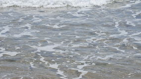 Sea with waves stock footage