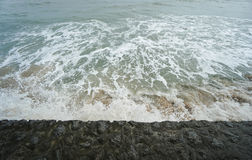Sea waves in summer Royalty Free Stock Photos