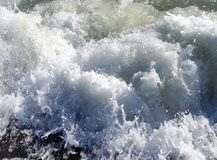 Sea waves – a symbol of perpetual motion and freedom royalty free stock photos