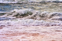 Sea Waves Water Background natural Royalty Free Stock Photo