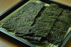 Sea weed snack. Food sea weed snack japanese nutrition stock photos