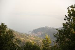 Sea West Coast, Italy royalty free stock images