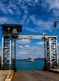 Sea wharf Royalty Free Stock Photography