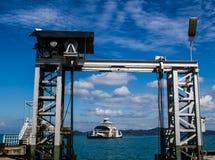 Sea wharf Royalty Free Stock Photos