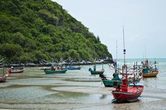 The sea where Huahin Royalty Free Stock Image