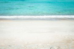 BlueSea White sand beach Chaweng Beach, Koh Samui, Thailand Royalty Free Stock Photo