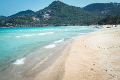 BlueSea White sand beach Chaweng Beach, Koh Samui, Thailand Stock Photos