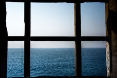 Sea Window Stock Photo