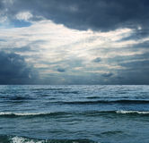 Sea at winter Royalty Free Stock Photography