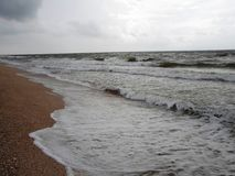 Sea in winter Royalty Free Stock Photography