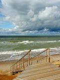 At the sea. Royalty Free Stock Photo