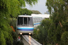 Sea World monorail, Gold Coast, Queensland Stock Photos