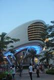 Sea World Square night scene in SHENZHEN CHINA ASIA Royalty Free Stock Photo