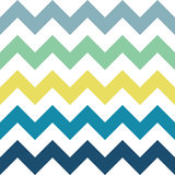Sea Zigzag Pattern. Blue, yellow, green and white zigzag seamless pattern. Geometric background for business brochures, cards, website templates. Sea beach Stock Photos