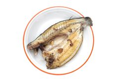 Seabass cooked Royalty Free Stock Images