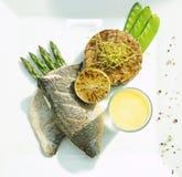 Seabass dish Stock Photos