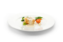 Seabass Fillet Royalty Free Stock Photography