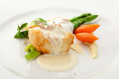Seabass Fillet Stock Photography