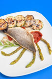 Seabass fillet Stock Images