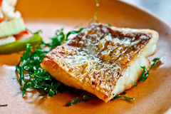 Seabass steak 2 Royalty Free Stock Photos