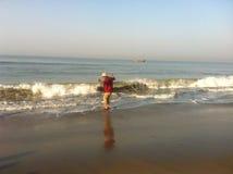 seabeach Stockbild