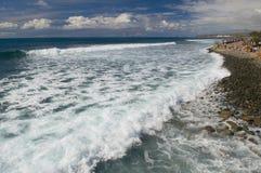 Seabeach i ön Gran Canaria Fotografering för Bildbyråer
