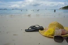 Seabeach at tropic Stock Photos