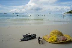 Seabeach at tropic Stock Image