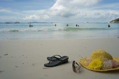 Seabeach at tropic Royalty Free Stock Photos