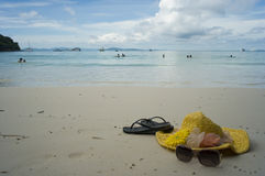 Seabeach at tropic Stock Photography