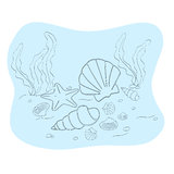 Seabed Royalty Free Stock Images
