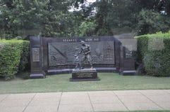 Seabees Żałobny zabytek w Arlington cmentarzu od Virginia usa Zdjęcia Stock