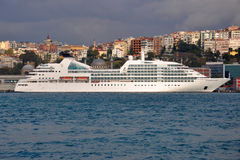 SEABOURN ODYSSEE stock afbeelding