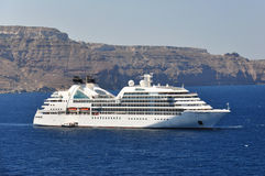 Seabourn Odyssey royaltyfri bild
