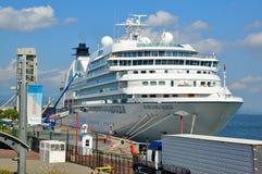 Seabourn poszukiwania statek wycieczkowy obraz royalty free