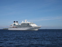 Seabourn quest - cruise ship stock photography