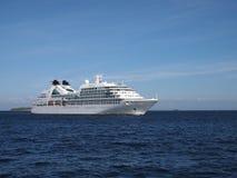 Seabournzoektocht - cruiseschip Stock Fotografie