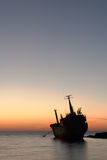 Seacaves skeppsbrott Royaltyfri Bild