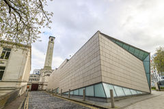 SeaCity Museum in a cloudy day Royalty Free Stock Photography