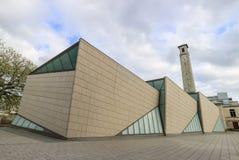 SeaCity-Museum an einem bewölkten Tag lizenzfreies stockfoto